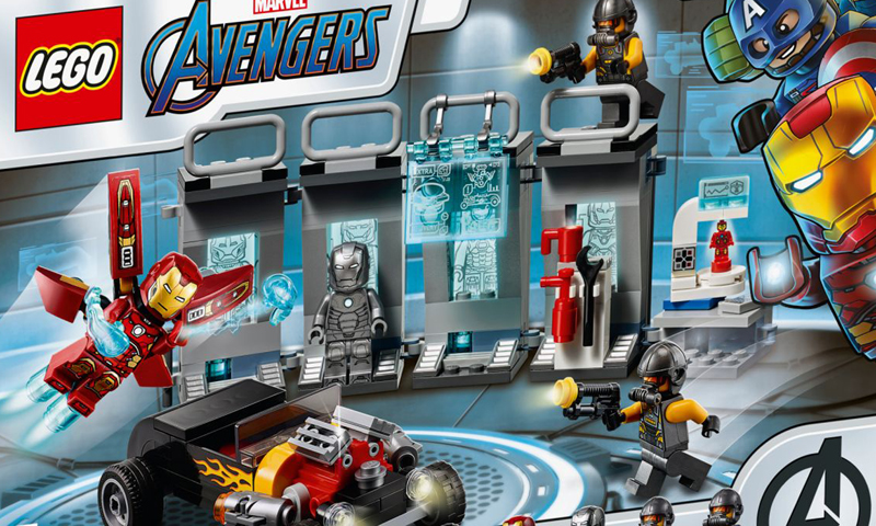 Take a Look at the LEGO Marvel Avengers Iron Man Armory (76167)