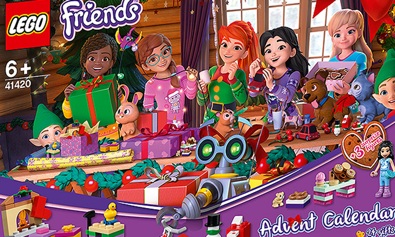LEGO Friends Advent Calendar 2020 (41420) Set Images Now Up