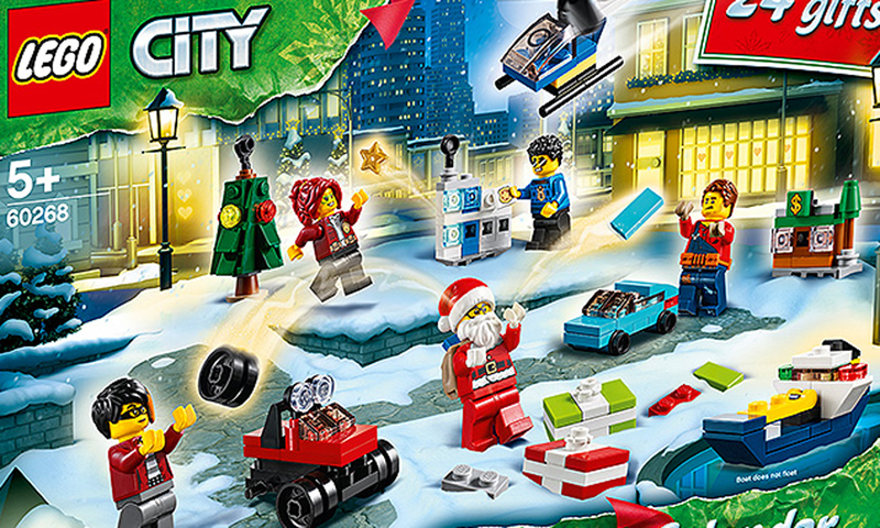Lego Calendar November 2021 LEGO City Advent Calendar 2020 (60268) Set Images Released