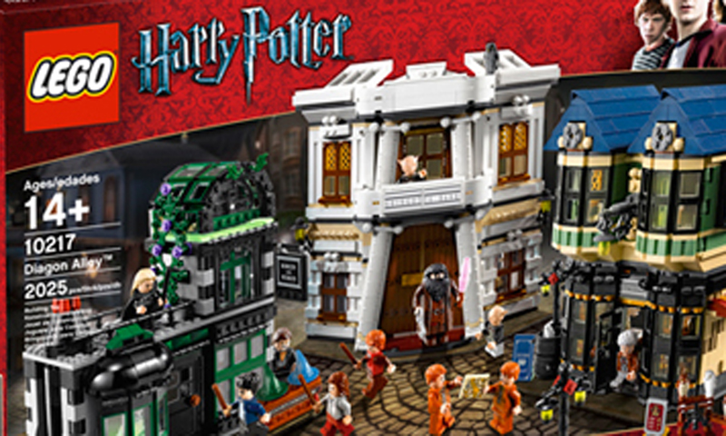 New LEGO Harry Potter Diagon Alley (75978) Set Arriving Very Soon