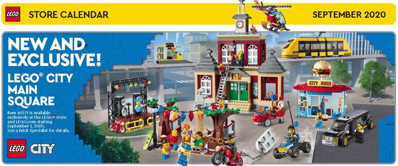 LEGO Harry Potter Freebies Highlighted in the September 2020 LEGO Store Calendar