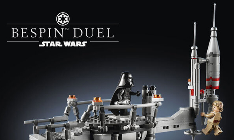 Here's More Info on the LEGO Star Wars Bespin Duel (75294)