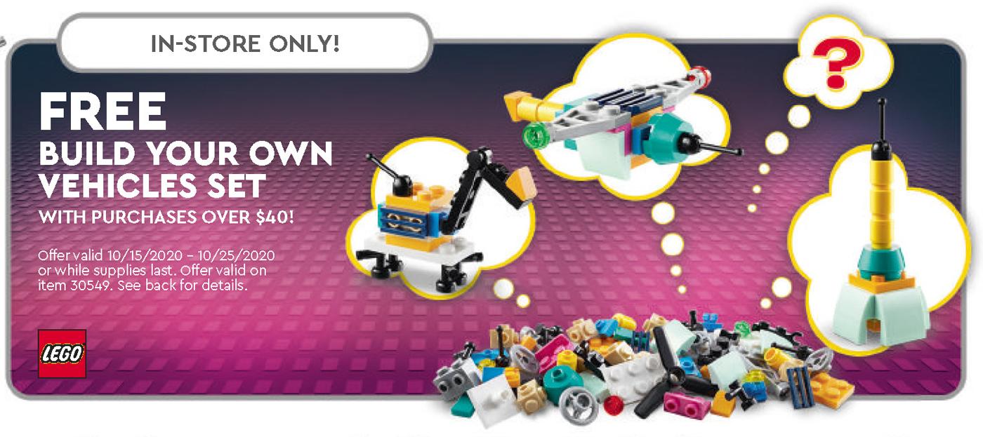 Lego October 2022 Calendar.Check Out The Lego Freebies In The October 2020 Lego Store Calendar
