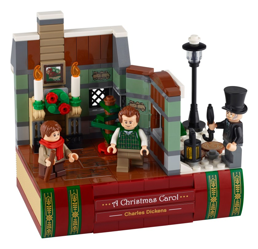 LEGO Charles Dickens Tribute