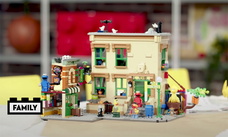 WATCH: LEGO Ideas 123 Sesame Street (21324) Designer Video