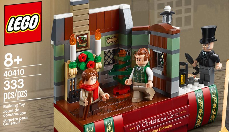 Seasonal VIP Treat LEGO Charles Dickens Tribute (40410) Officially Revealed