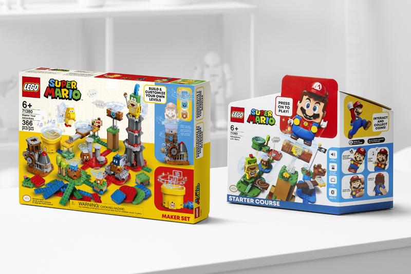 LEGO Introduces New LEGO Super Mario 2021 Sets