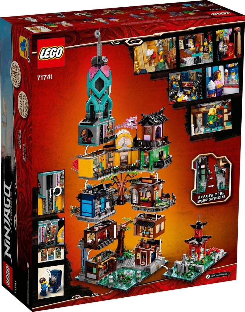 LEGO Ninjago City Gardens