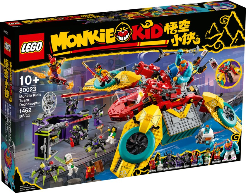 Monkie Kid's Team Dronecopter