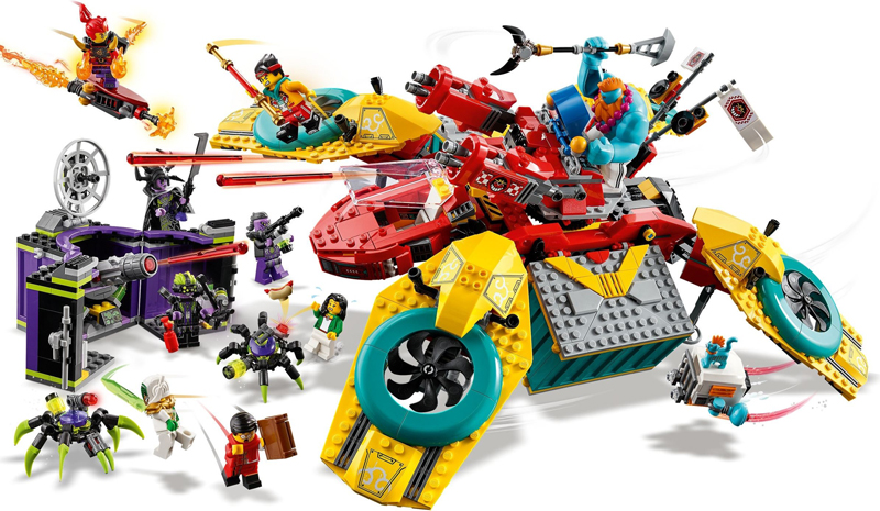 ICYMI: LEGO Monkie Kid Monkie Kid's Team Dronecopter (80023) Now Listed at LEGO Shop@Home
