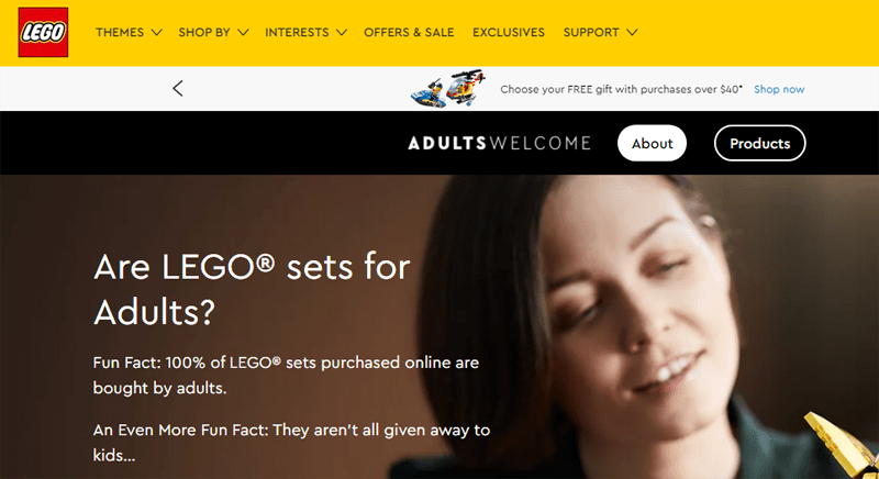 New LEGO Adults Welcome Section Curates the Best Sets That LEGO Shop@Home Has To Offer