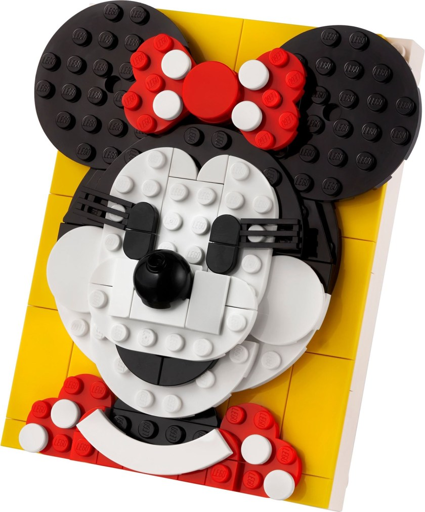 LEGO Brick Sketches Mickey and Minnie