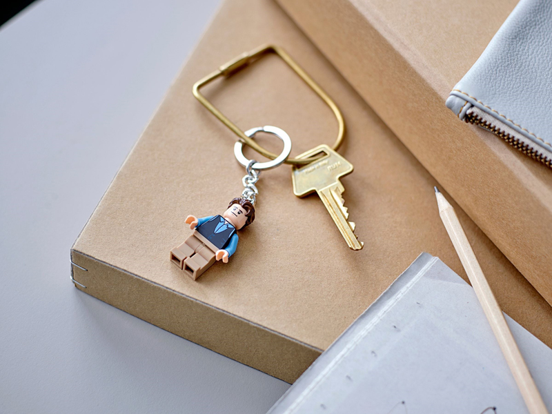 LEGO Ideas Minifigure Keychains Now Available at LEGO Shop@Home