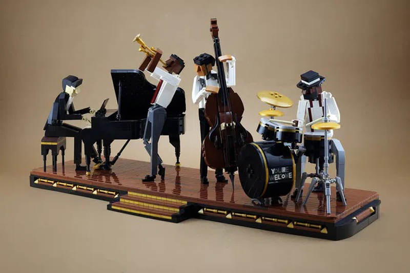 LEGO Ideas Jazz Quartet Product Idea Hits 10K Fan Support