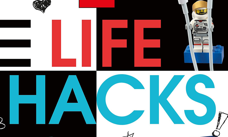 Be Sure to Check Out This LEGO Life Hacks Book from DK Publishing
