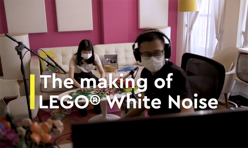 WATCH: The Making of LEGO White Noise