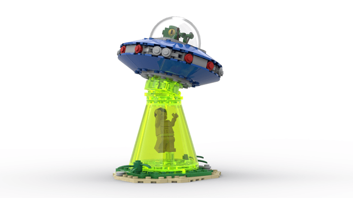 LEGO Ideas Out of This World Space