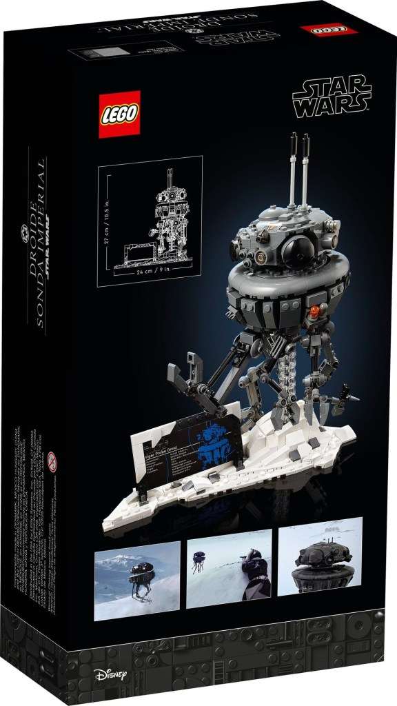 LEGO Star Wars Imperial Probe Droid