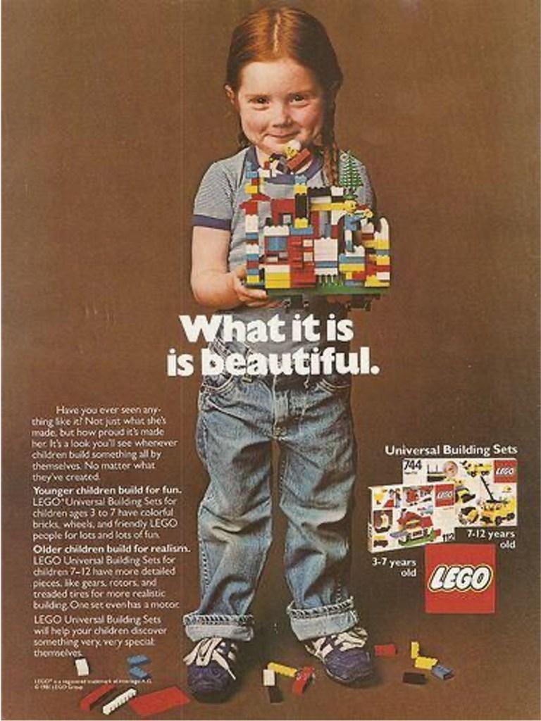 LEGO 1980s Advert