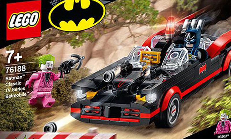 LEGO Rolls Out Two New LEGO DC Super Heroes Batmobile Sets