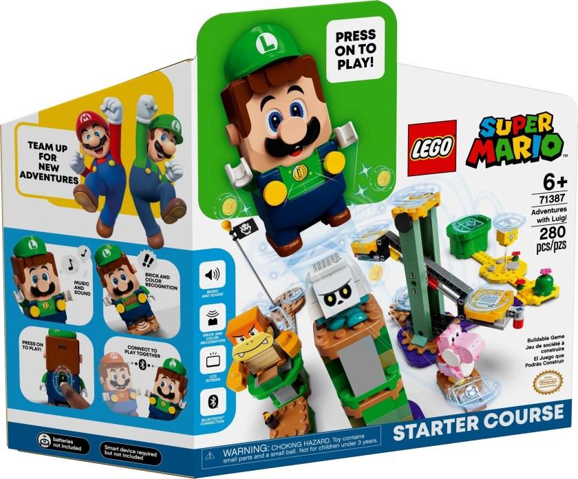 LEGO Super Mario Adventures With Luigi