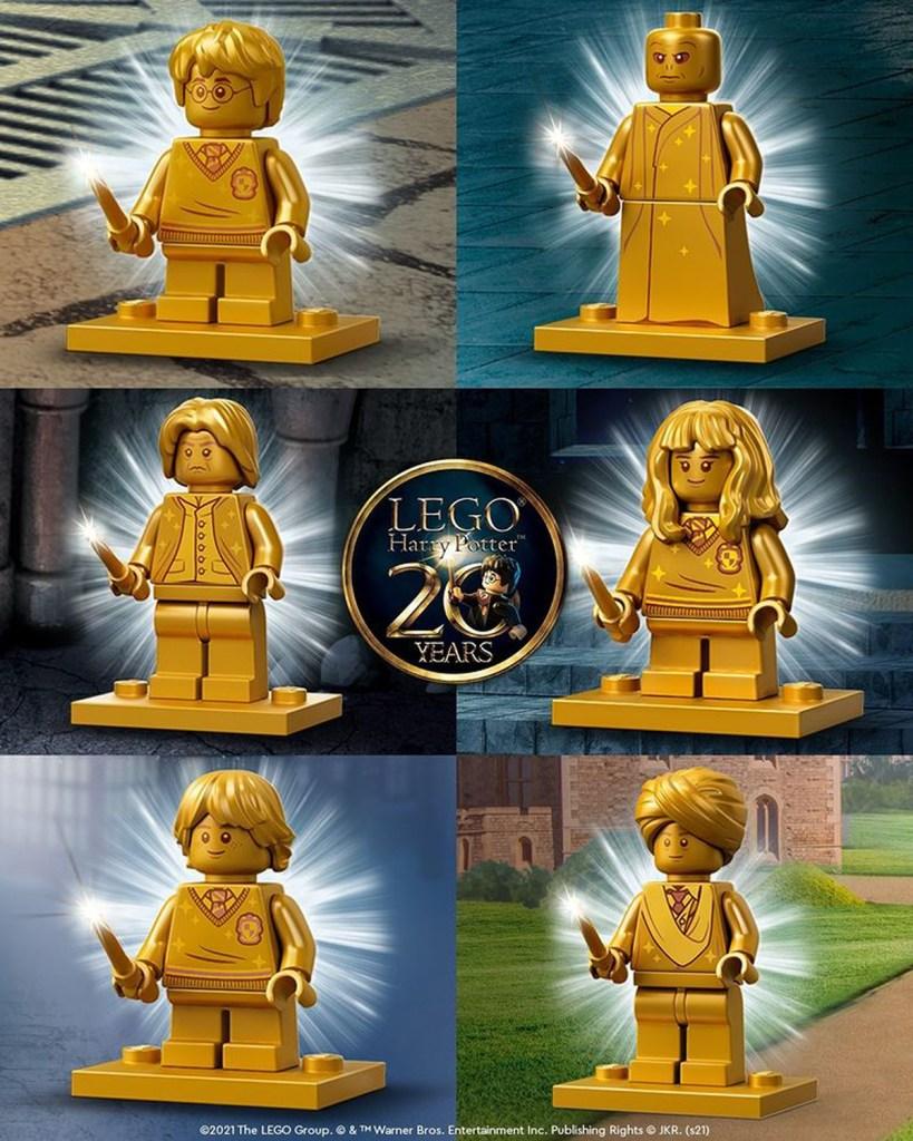 LEGO HP 20th minifigs