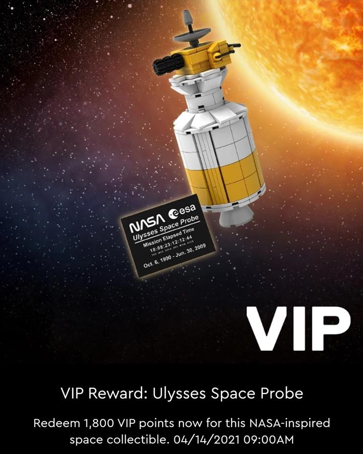 LEGO NASA Ulysses Space Probe 01