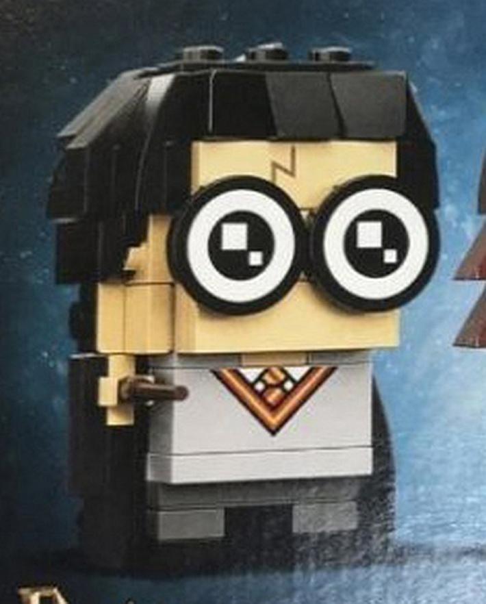 LEGO brickheadz harry