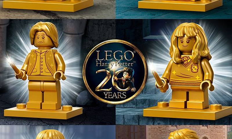 LEGO Harry Potter 20th Anniversary Commemorative Minifigures Revealed