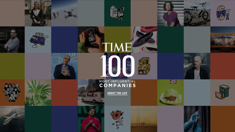 The LEGO Group Named as One of Time Magazine's 100 Most Influential Companies