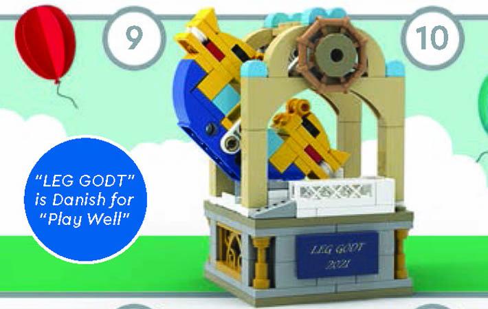 June 2021 LEGO Store Calendar