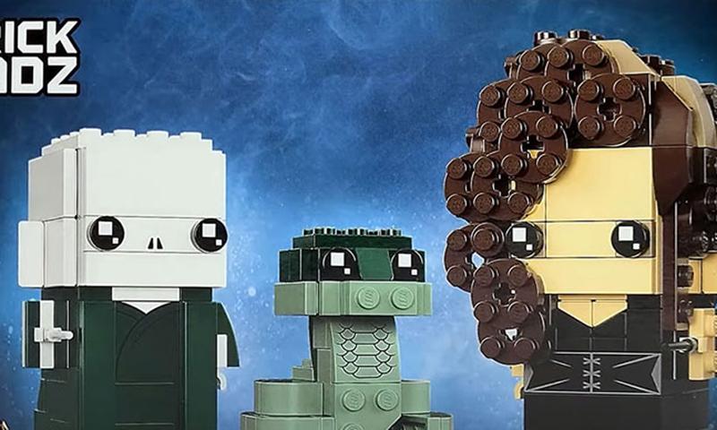 LEGO BrickHeadz Voldemort, Nagini & Bellatrix (40496) Revealed