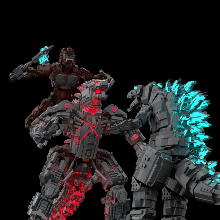 LEGO Mecha Godzilla