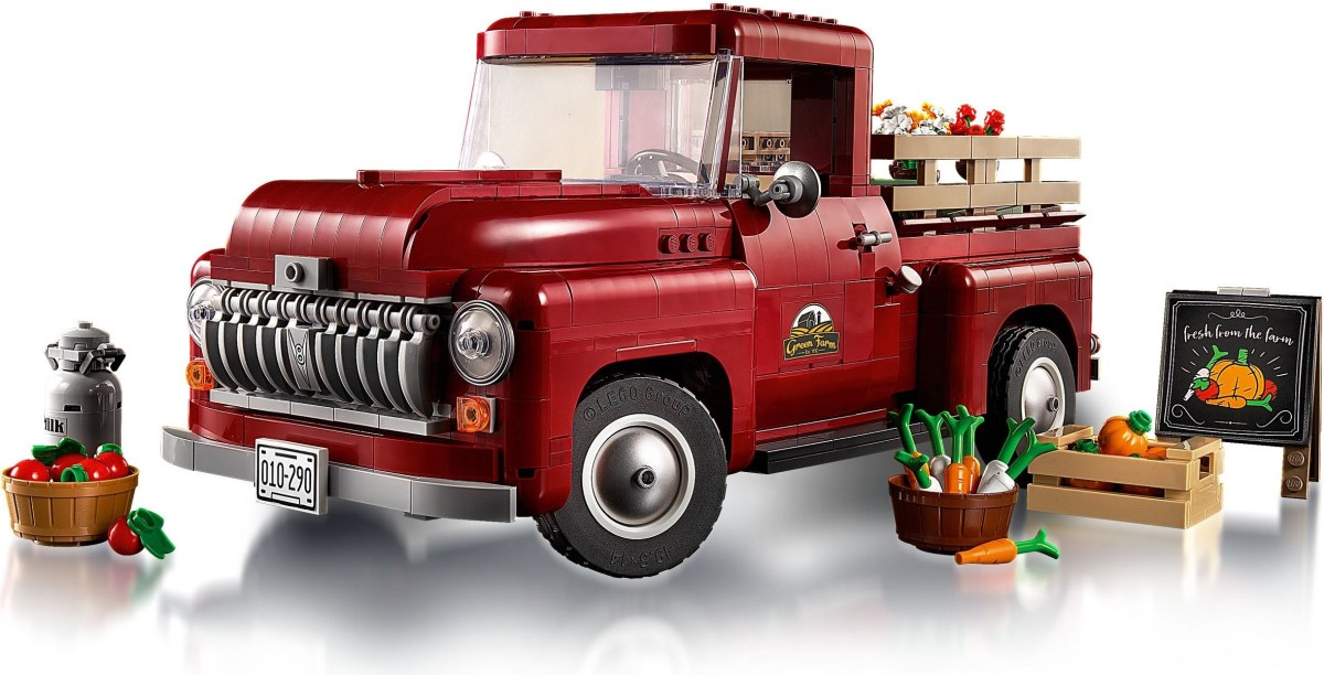 Creator Expert Pickup Truck (10290) Designer Video Now Out