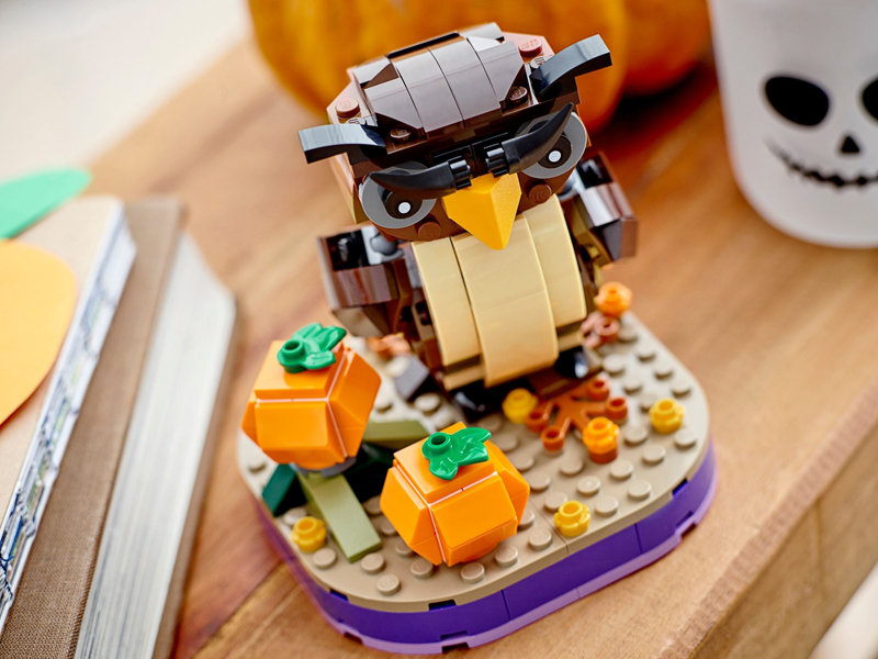 LEGO Seasonal Halloween Owl (40497) Coming in August, 2021