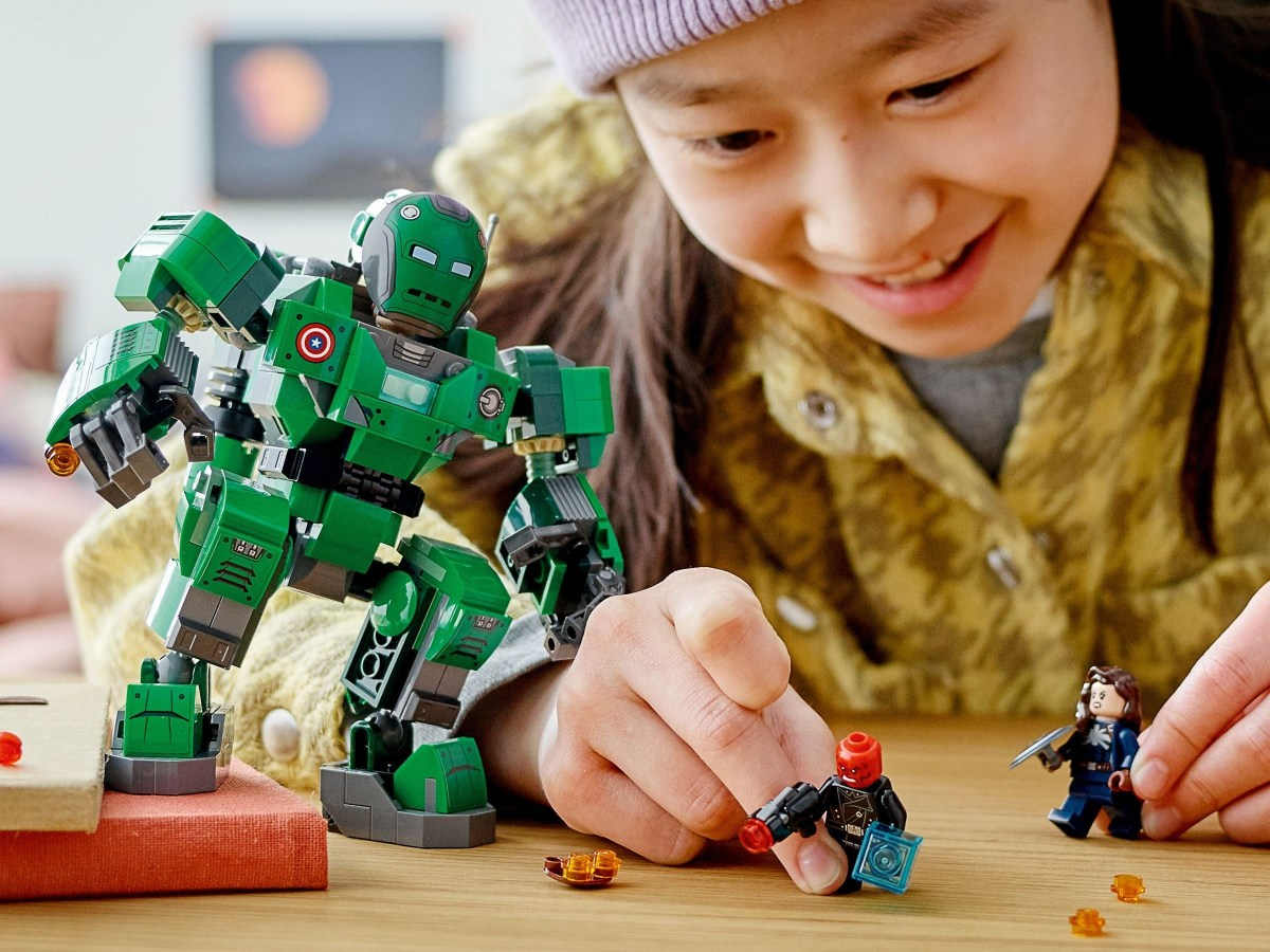 LEGO Marvel Captain Carter & The Hydra Stomper (76201) First Images