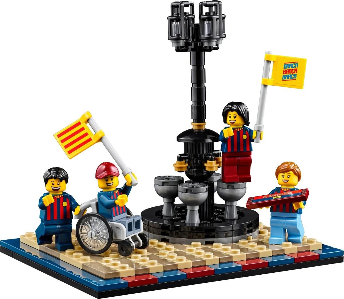 First Images of LEGO FC Barcelona Celebration (40485) GWP Set Revealed