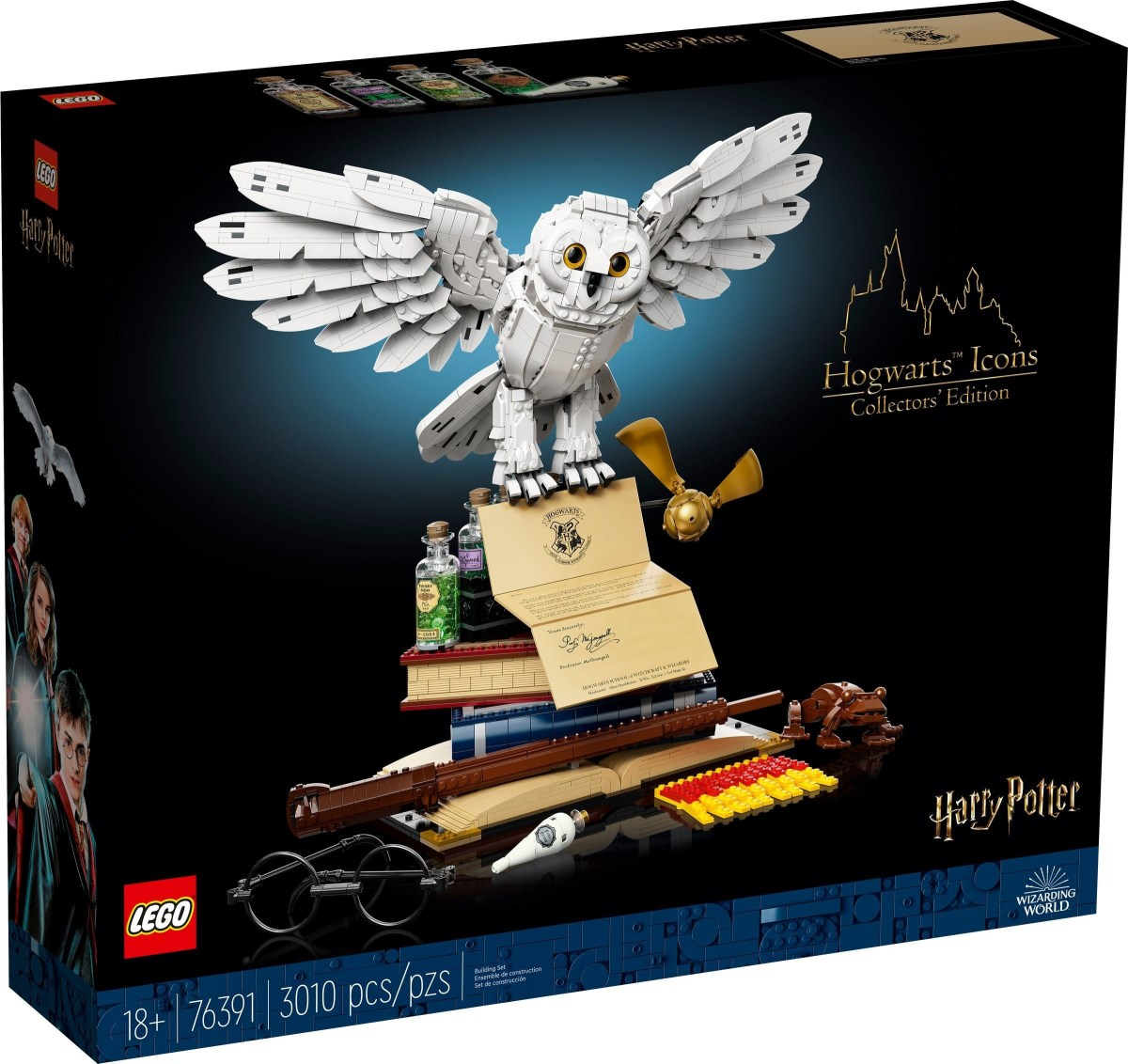 LEGO Harry Potter Hogwarts Icons – Collectors' Edition (76391) Now Available for Pre-Order