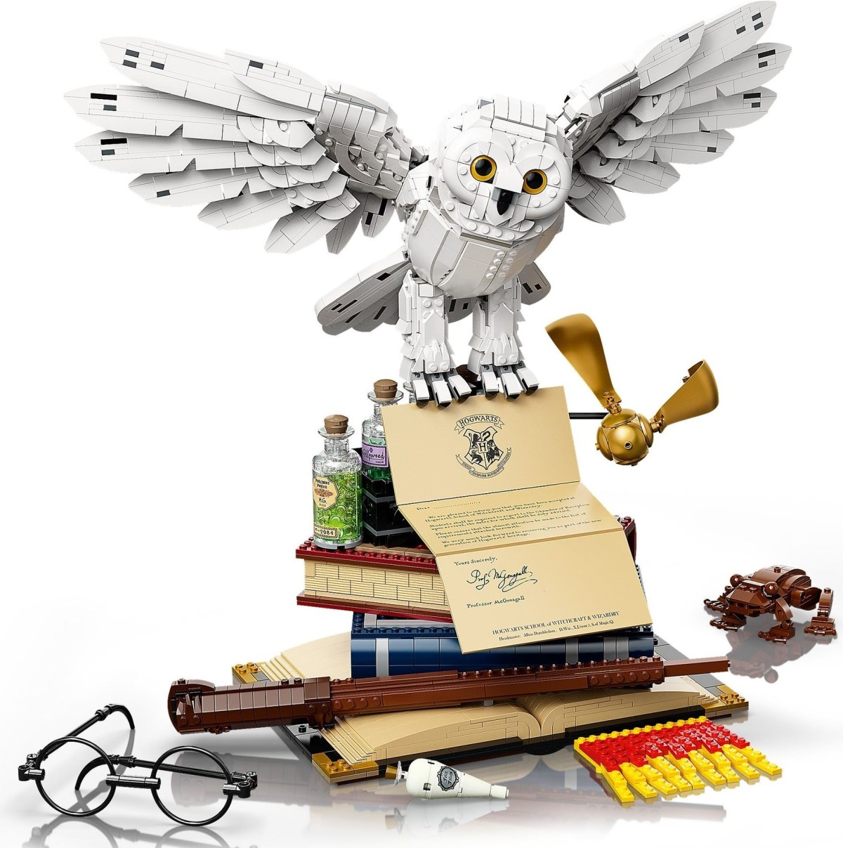 LEGO Harry Potter Hogwarts Icons – Collector's Edition (76391) Delayed to September 15 in NA