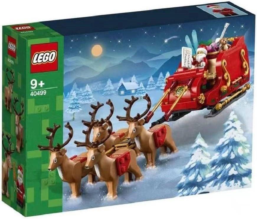 Malaysian Retailer Has First Images of LEGO Seasonal Santa's Sleigh (40499)