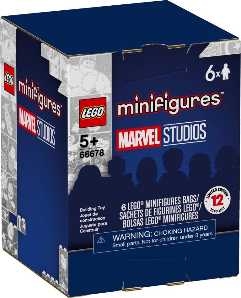 LEGO Collectible Minifigures Marvel Studios