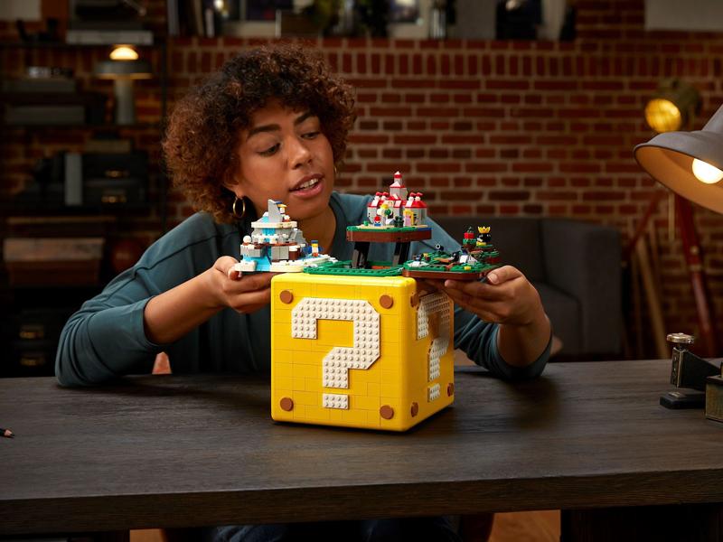 LEGO Super Mario 64 Question Mark Block (71395) Given Epic Reveal