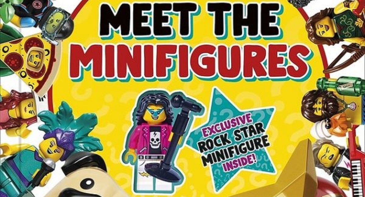 """LEGO and DK Bringing """"Meet the Minifigures"""" Book with Rock Star CMF Exclusive Next Year"""