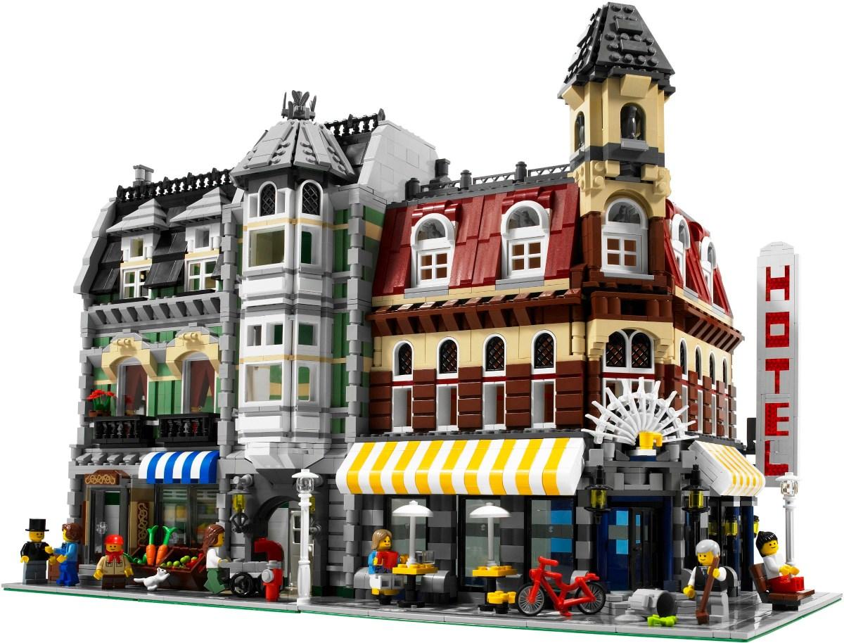Rumor of LEGO Creator Expert Modular 15th Anniversary Set: Hotel & Art Gallery (10297)