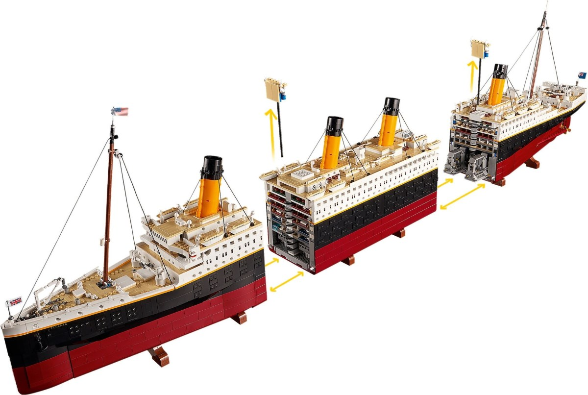 """NBC's """"Tonight Show"""" and """"SNL"""" Mention LEGO Creator Expert Titanic (10294) (and its Price)"""