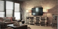 Brick feature wall a solution for comfort style and living ...