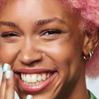 bleach london bricks magazine rose pink hair
