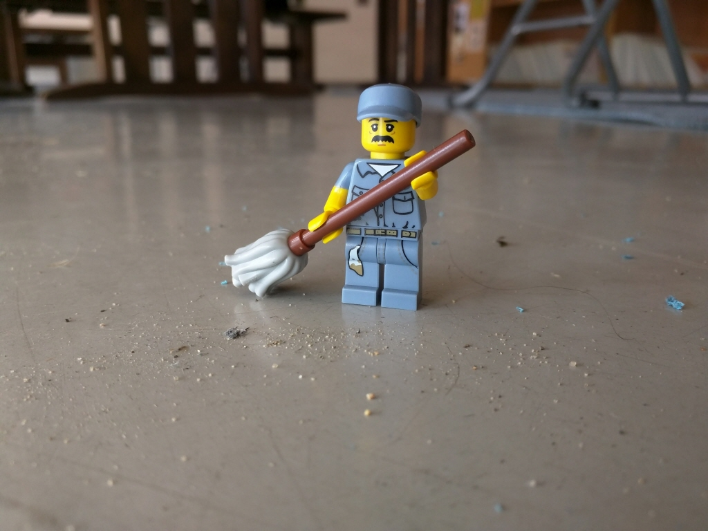 John the Lego Janitor