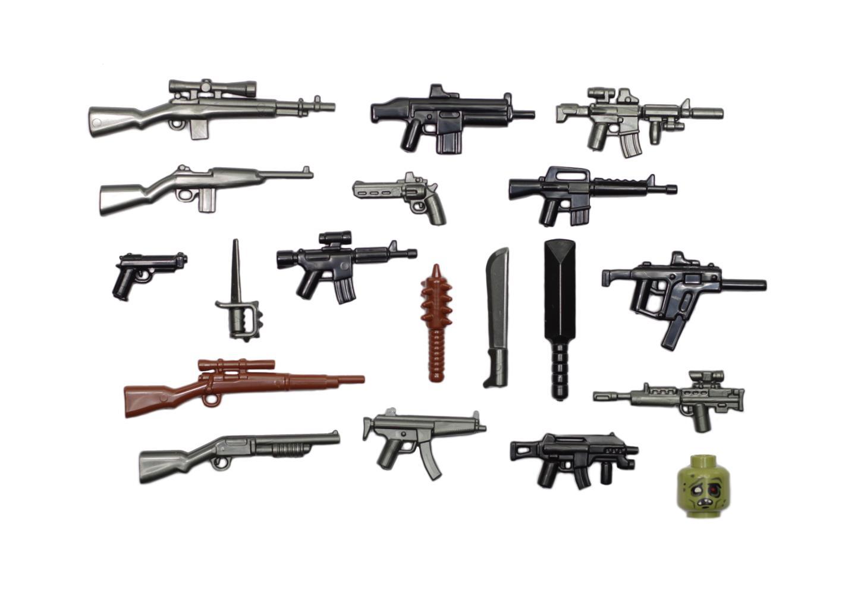 Brickarms Zombie Defense Pack