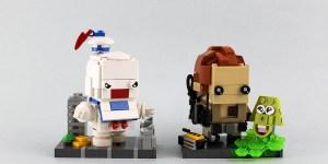 Ghostbusters BrickHeadz - James Zhan
